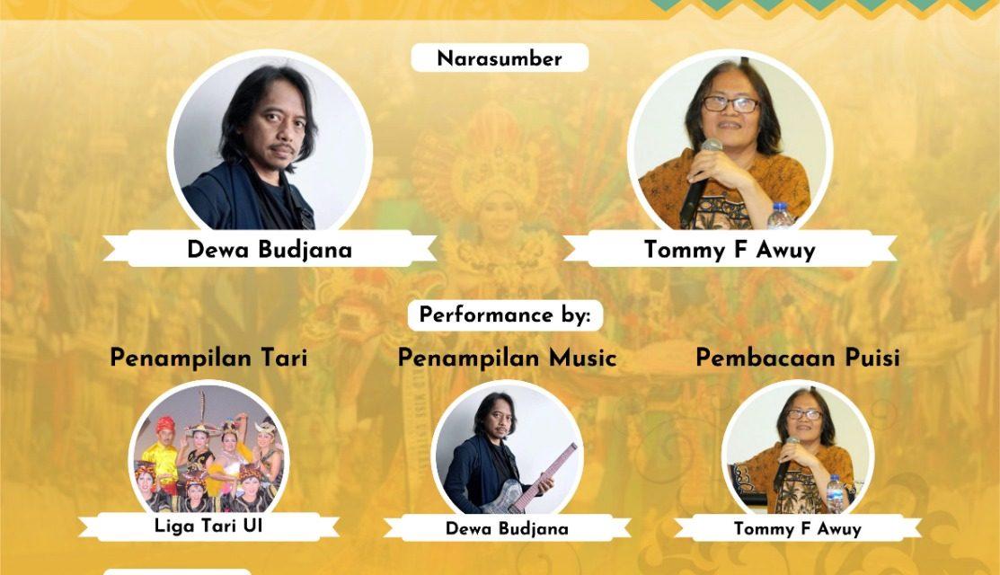 MAC UI Kenalkan Dharma dalam Budaya Nusantara melalui Pagelaran Seni